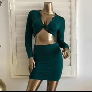 Hot Miami Styles Skirt and Top Set